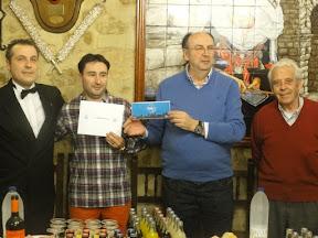 CARLOS ANTONA y MOISES DE FRUTOS, Campeones del XIV Campeonato Restaurante la Alcaldesa