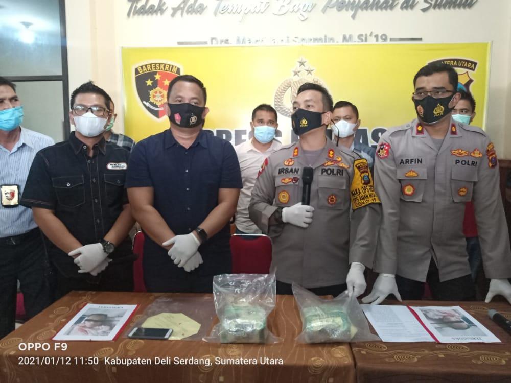 Waka Polrestabes Medan : Sindikat Sabu Jaringan Aceh – Medan Ditembak Mati