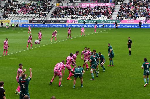 Stade Français contre Pau