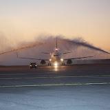 Llegó el primer avión de Alas Uruguay