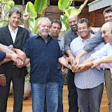 Almoço com prefeitos do PT
