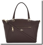 Coach Ox Blood Cross Body Tote