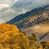 Mount Sentinel Fall, Missoula, Montana © Mark Mesenko. Prints available at www.mesenko.com