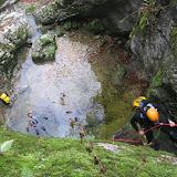Canyoning Jura - Bief des Parres - Toussaint 2008