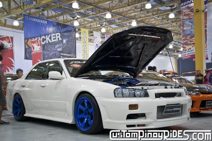 R34 Nissan Skyline Sedan Custom Pinoy Rides Car Photography pic2