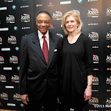 WWW.ENTSIMAGES.COM -  Ramsey Lewis arriving   at Jazz FM Awards at One Marylebone road London January 31st 2013                                                      Photo Mobis Photos/OIC 0203 174 1069