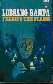 Cover of Tuesday Lobsang Rampa's Book Feeding the Flame