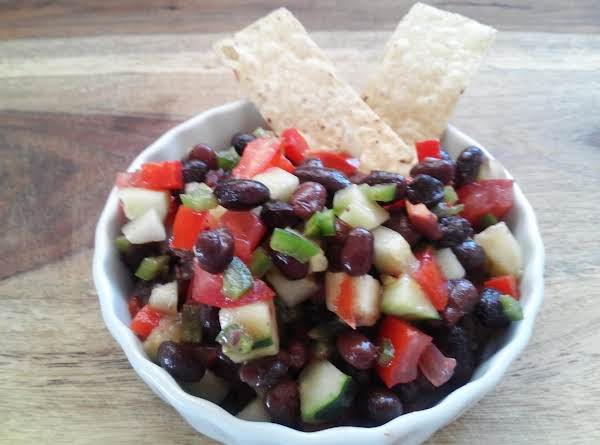 Fresh Black Bean Salsa Recipe