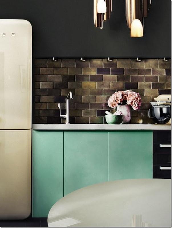case-interni-cucina-colori-turchese-nero-2