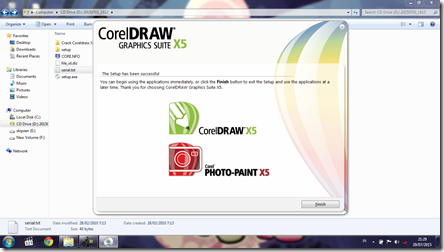 Install CorelDRAW Graphics Suite X5 - 9