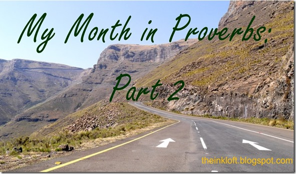 Month in Proverbs Part 2