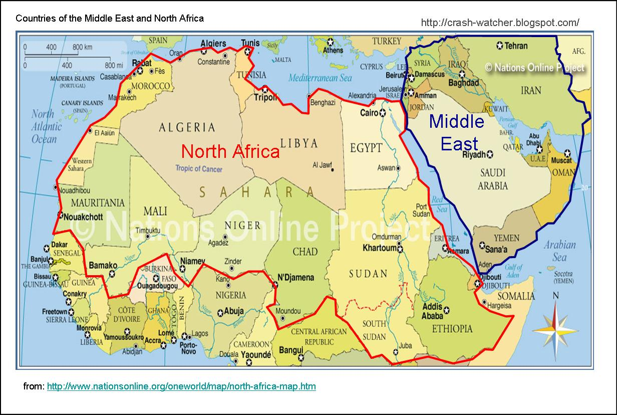 Crash Watcher Survey of Oil Exports from North Africa