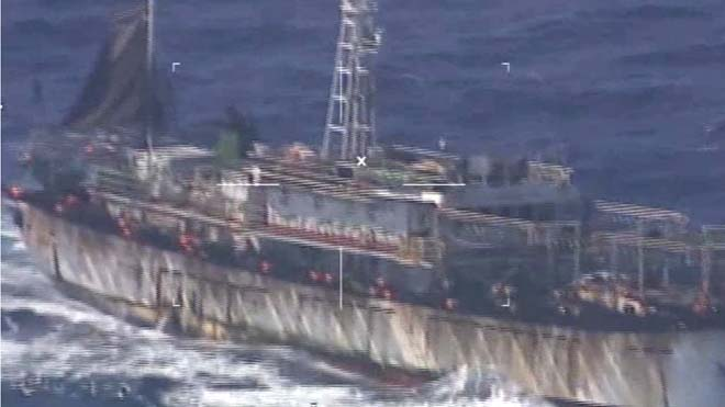 Video: Argentina sinks Chinese ship in South Atlantica