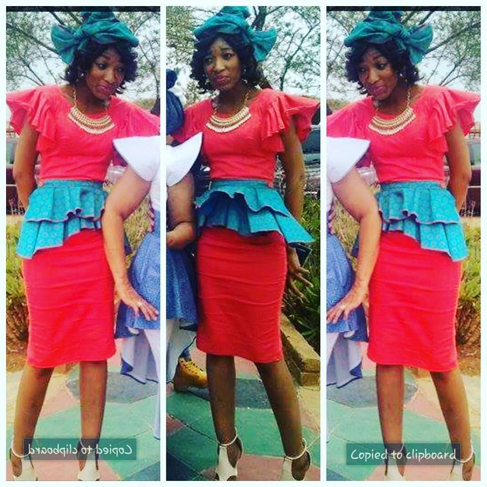 shweshwe peplum dresses 2017 + 2018