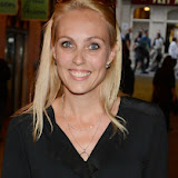 WWW.ENTSIMAGES.COM - Camilla Dallerup     at    WAG! The Musical - press night at Charing Cross Theatre, The Arches, Villiers Street, London July 24th 2013                                                 Photo Mobis Photos/OIC 0203 174 1069