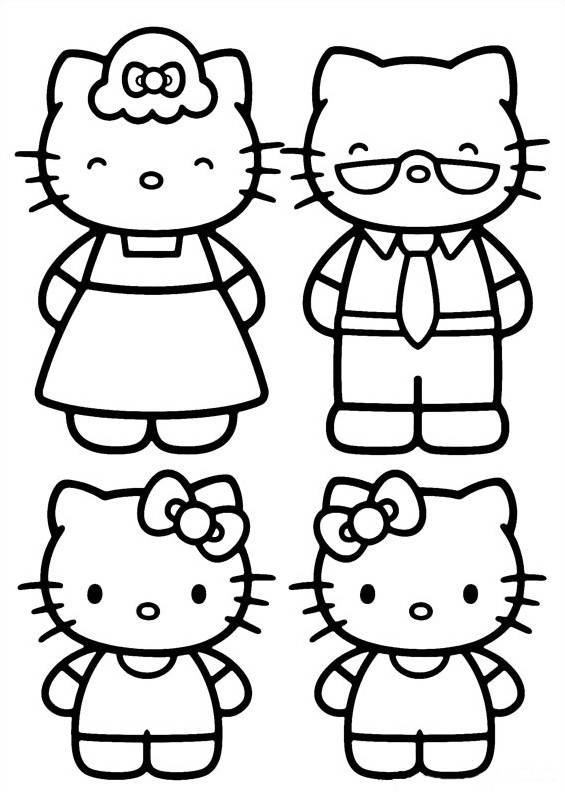 Free coloring pages about family that you can print out for your ... | 792x565