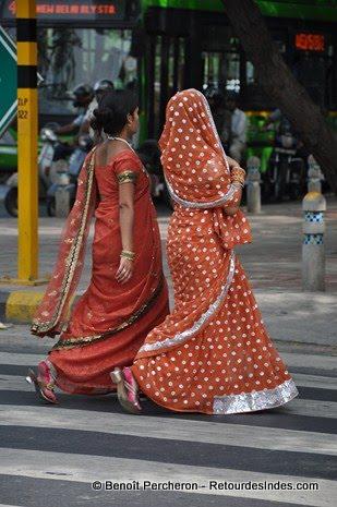 Saris, Delhi