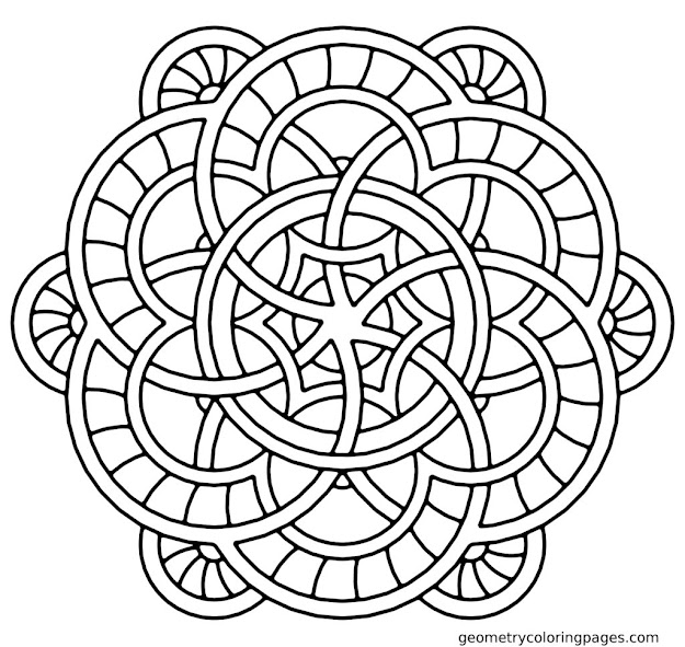 Coloring Pictures Mandala  Free Printable Coloring Pages For Adults Mandala  Mandala Coloring Pages For Adults