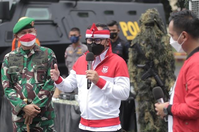 Festival Merah Putih 2021 Berperan Kendalikan Pandemi Covid-19 di Kota Bogor
