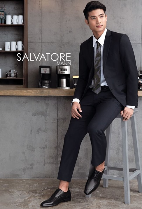 Mikael Daez for Salvatore Mann