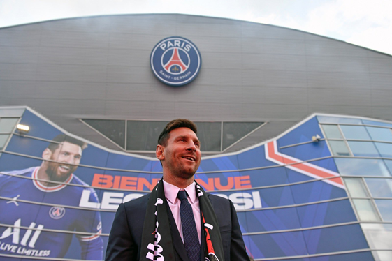 Lionel Messi, PSG Token'ı aldı