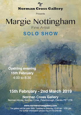 15th Feb - 2nd March 2019: Margie Nottingham - solo