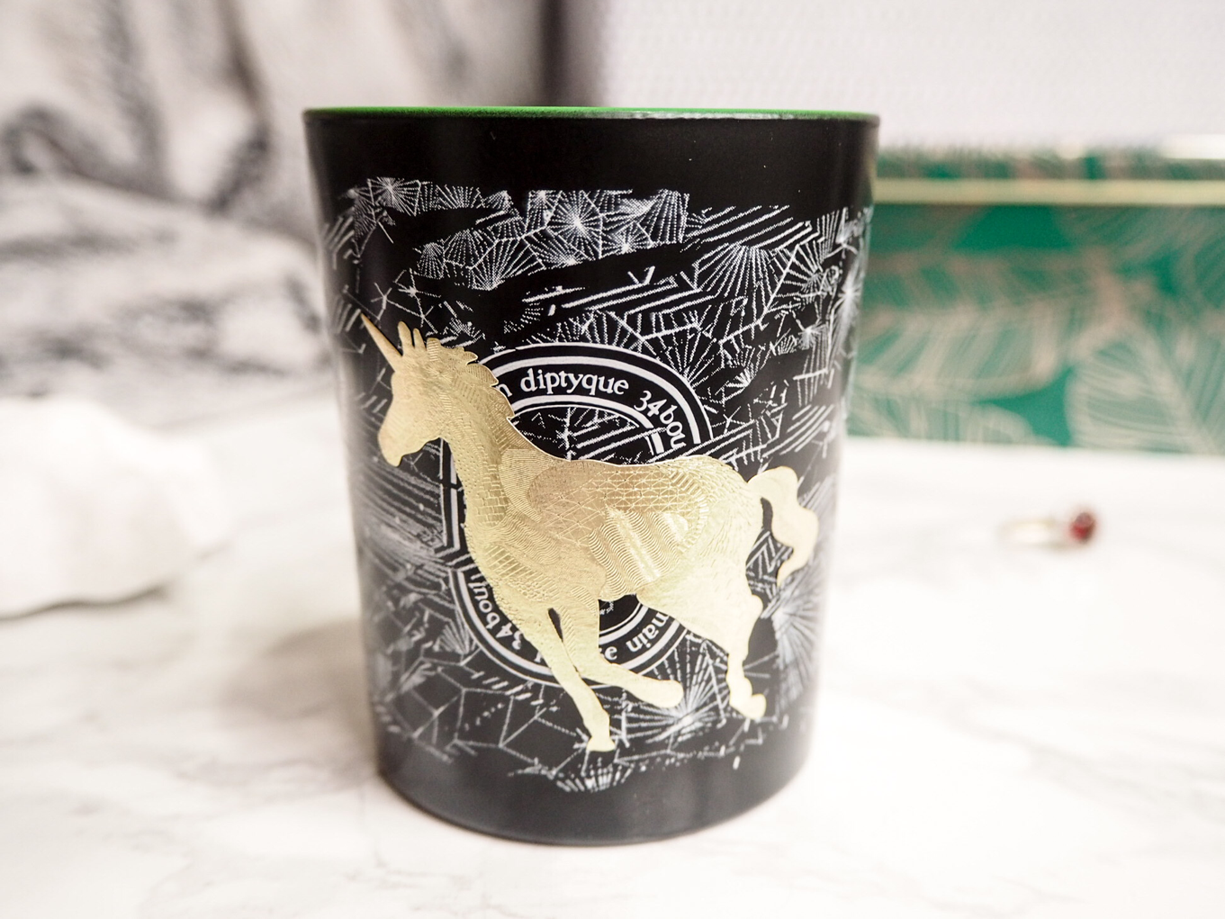 january-favourites-beauty-diptique-frosted-forest-christmas-candle-unicorn