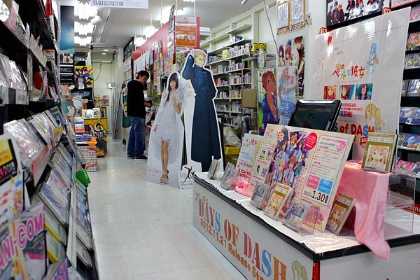 akhihabara district tokyo, anime shops tokyo, manga shops tokyo