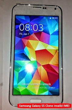 Image of Samsung Galaxy S5 Clone Invalid IMEI Fixed!