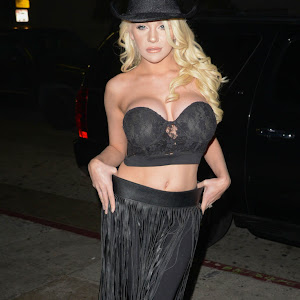 courtney stodden at star magazine s hollywood rocks event