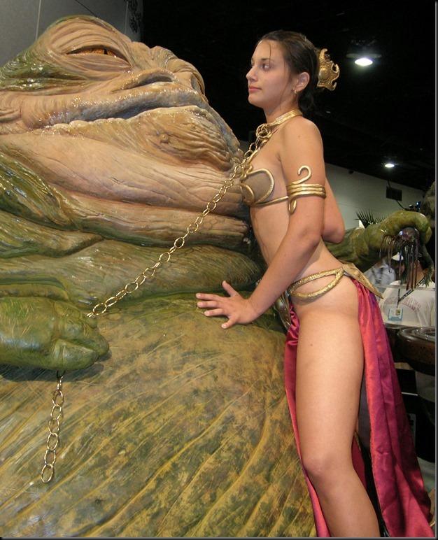 Princess Leia - Golden Bikini Cosplay_865825-0095
