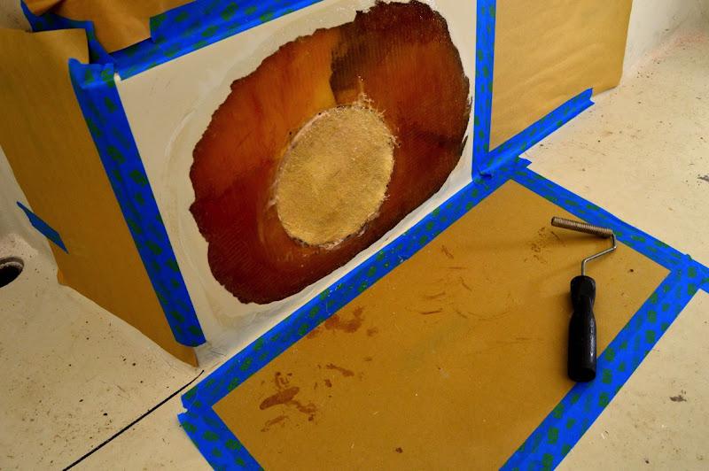 Glass mat plug