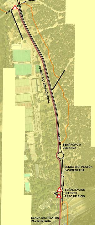 Puerta de Hierro - El Pardo. Propuesta