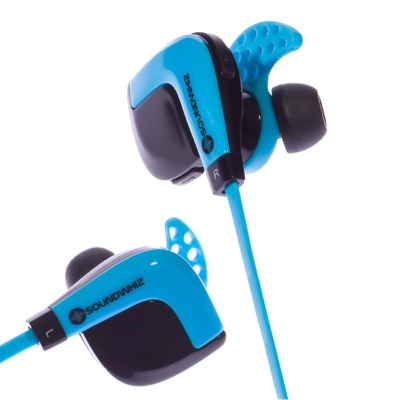 glamamama 39 s goodies soundwhiz whizbeats bluetooth sports headphones work beautifully on the. Black Bedroom Furniture Sets. Home Design Ideas