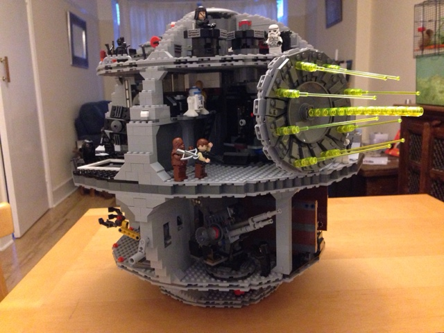 Star Wars Lego Death Star