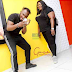 Star Actress, Eniola Badmus Spotted With Singer, Slimcase at Ikeja City Mall