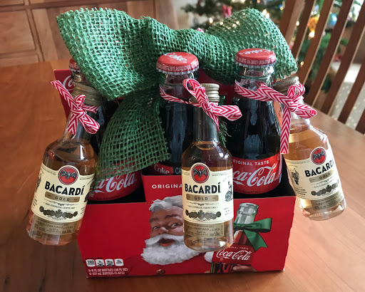 Holiday Rum and Coke Gift Idea