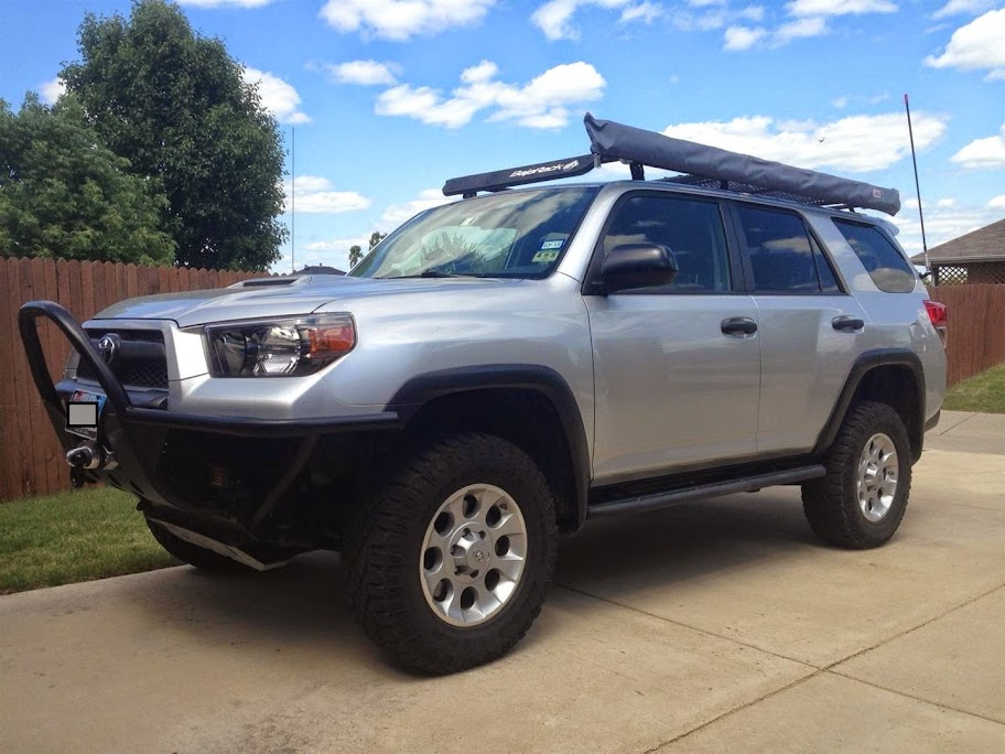 Toyota Rockwall >> ARB 2500 Awning / Screen Room installed on 5th Gen 4Runner ...
