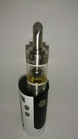 DSC 2248 thumb%25255B2%25255D - 【MOD+アトマ】「Sense Blazer 200キット」レビュー。最大200W対応BOX MODとセラミック搭載クリアロのスターターキット!【電子タバコ/爆煙】