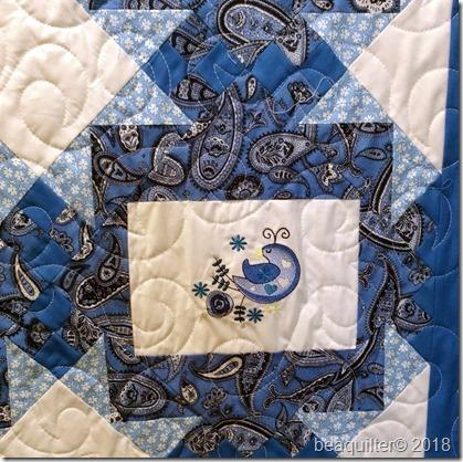embroidery frames quilt closeup2