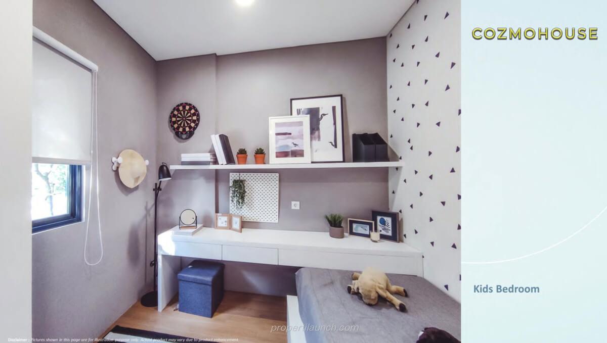 Show Unit Rumah Cozmo House Myza BSD - Kids Bedroom