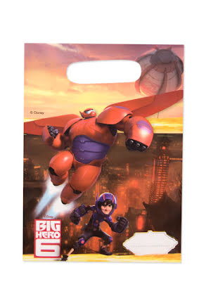 Big hero 6, kalaspåsar