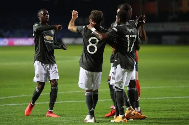 Carabao Cup:Man Utd Reach Last 16 With 3-0 Win Over Luton