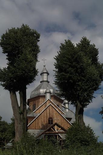 Hoszów, dawna cerkiew,  kościół