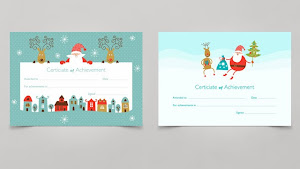 Christmas Certificates