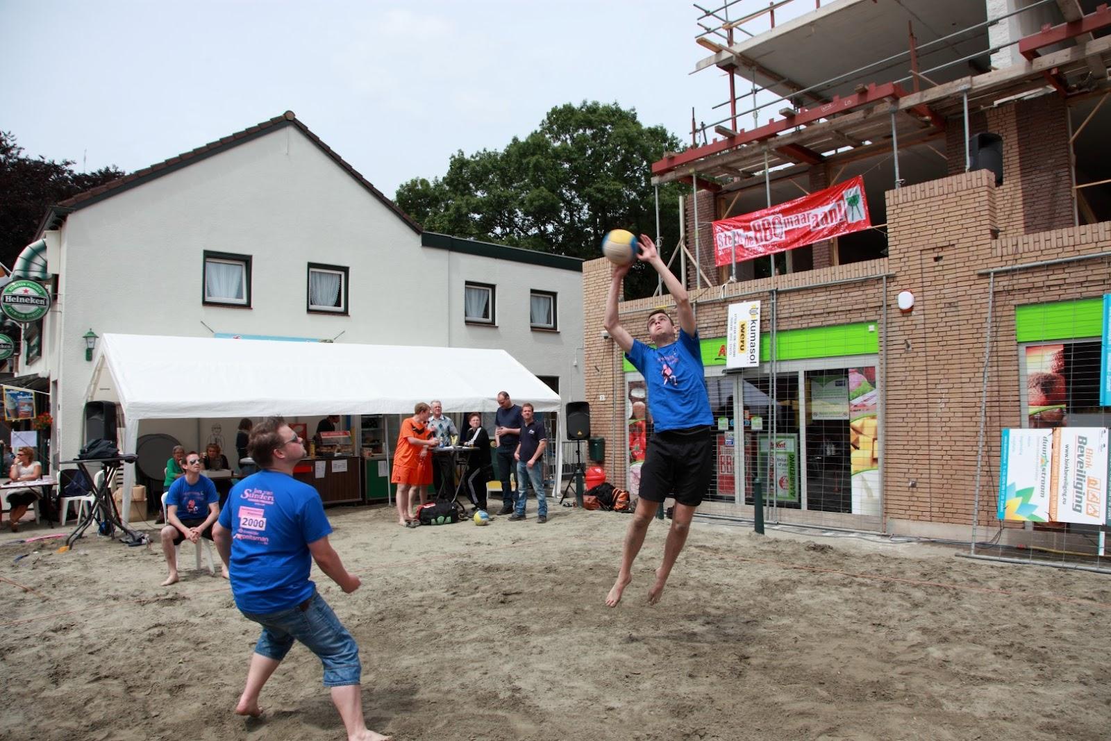 Beachweekend 2013 volleybal toernooi