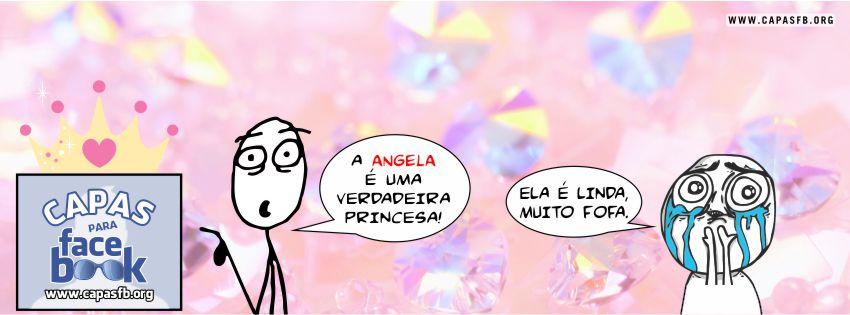 Capas para Facebook Angela