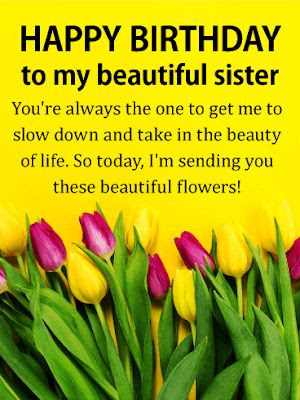 sister brother birthday wishes images