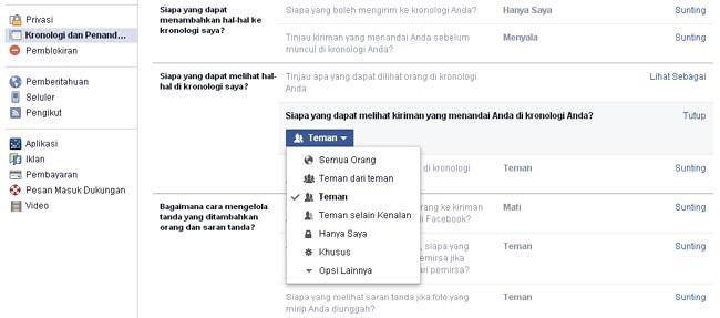 Cara Membatasi Orang yang Melihat Post di Beranda Facebook Anda