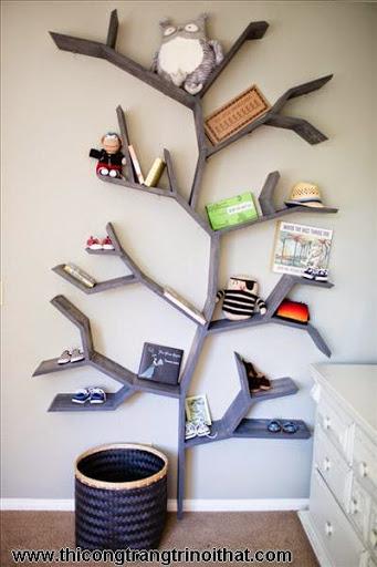 Phòng ngủ đẹp dành cho bé gái, bé trai - <strong><em>Thi công trang trí nội thất</em></strong>-10
